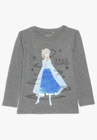 Name it - NMF DISNEY FROZEN ELSA - Langarmshirt - grey melange - 0
