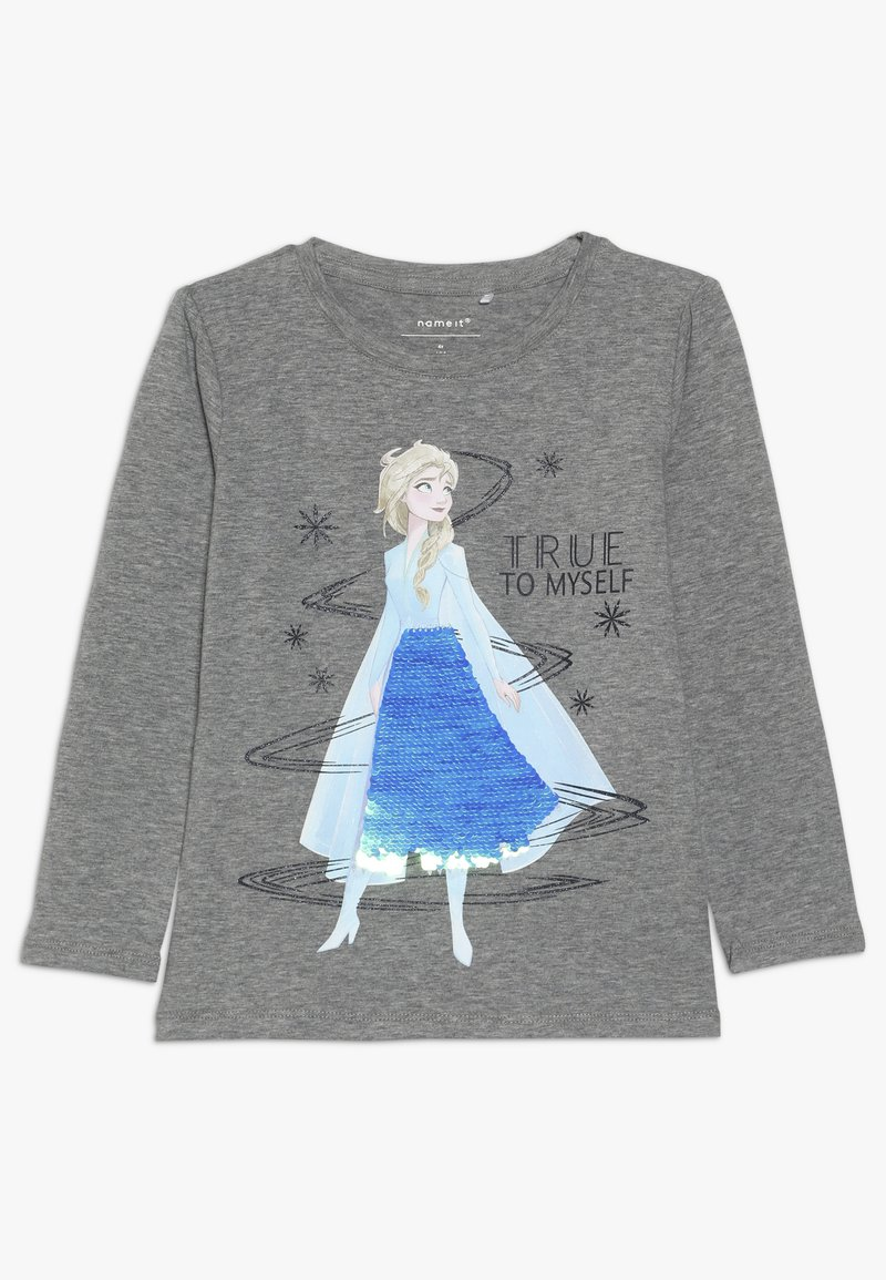 Name it - NMF DISNEY FROZEN ELSA - Langarmshirt - grey melange