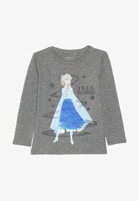 Name it - NMF DISNEY FROZEN ELSA - Langarmshirt - grey melange - 2