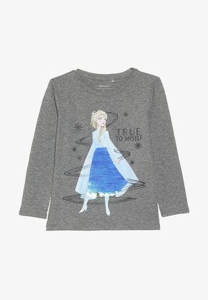 NMF DISNEY FROZEN ELSA - Long sleeved top - grey melange