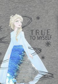 Name it - NMF DISNEY FROZEN ELSA - Langarmshirt - grey melange - 3