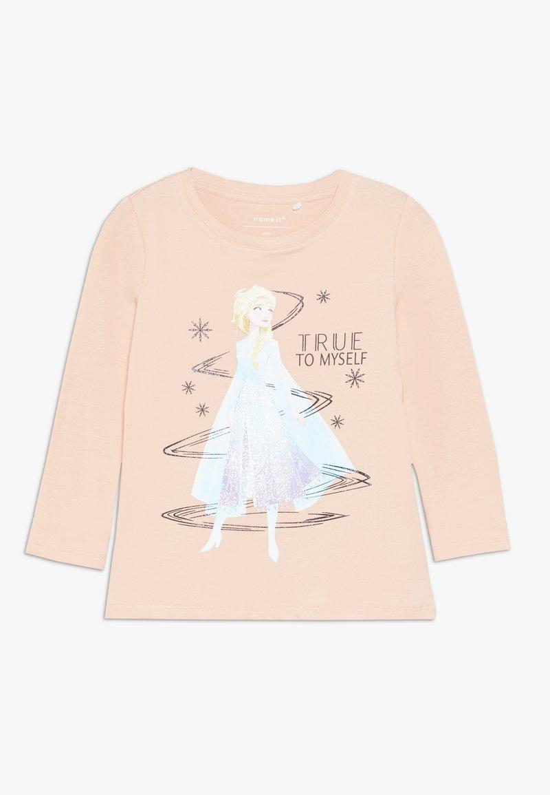 Name it - NMF DISNEY FROZEN ELSA - Top sdlouhým rukávem - silver pink