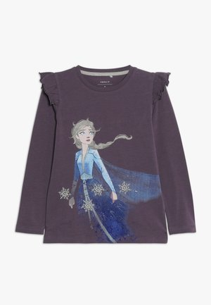 DISNEY FROZEN ELSA - Long sleeved top - black plum