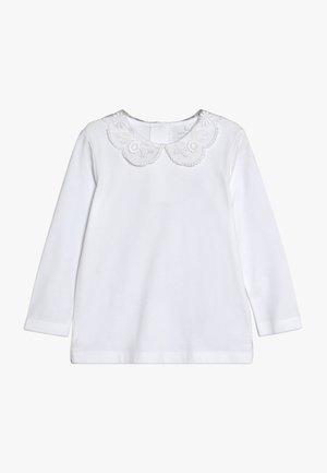 NMFRUTH - Top sdlouhým rukávem - bright white