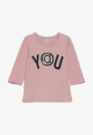 NBFROSE - Maglietta a manica lunga - silver pink