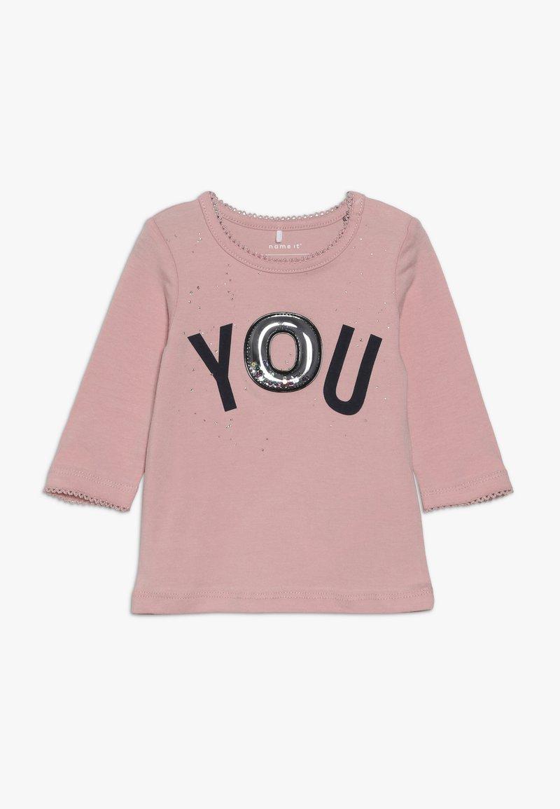 Name it - NBFROSE - Pitkähihainen paita - silver pink