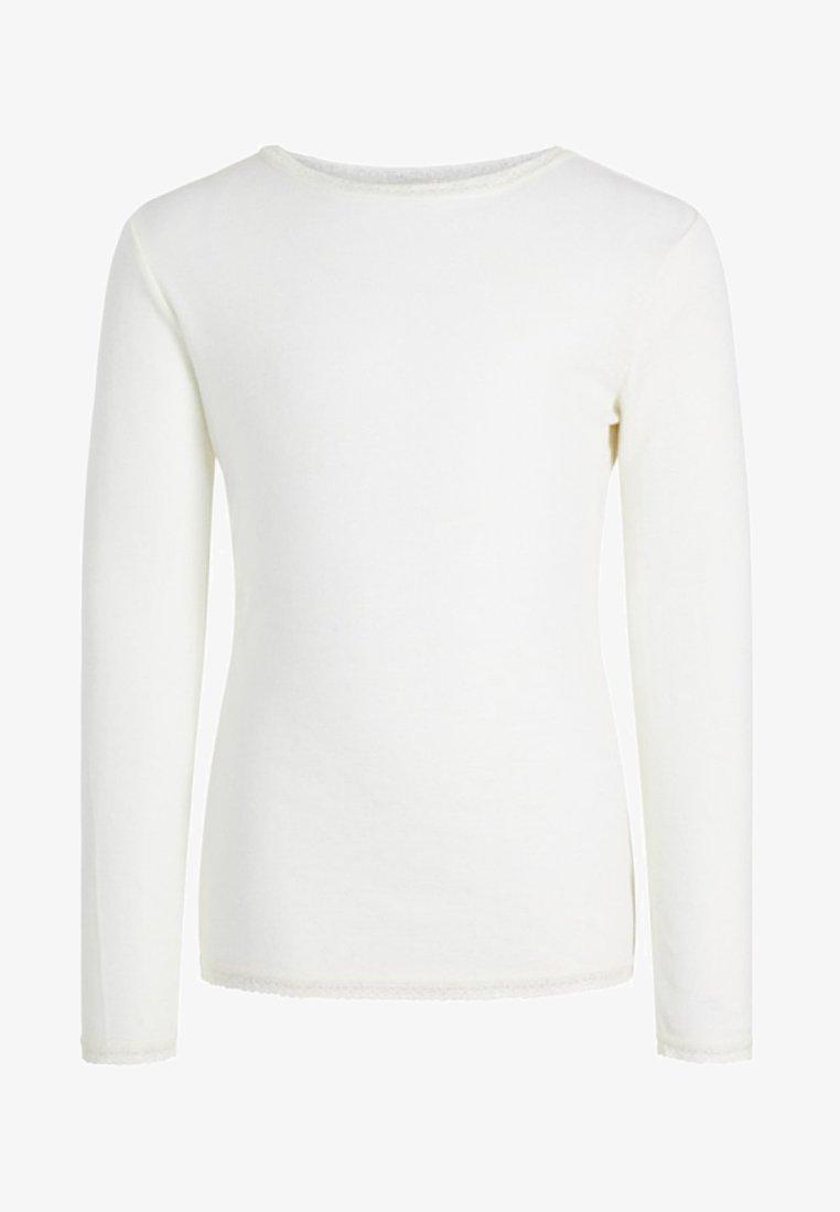 Name it - Langærmede T-shirts - snow white