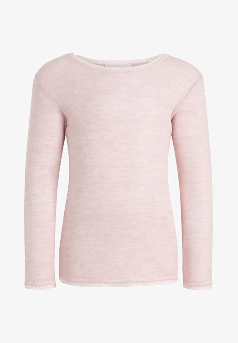 Name it - Langærmede T-shirts - burnished lilac