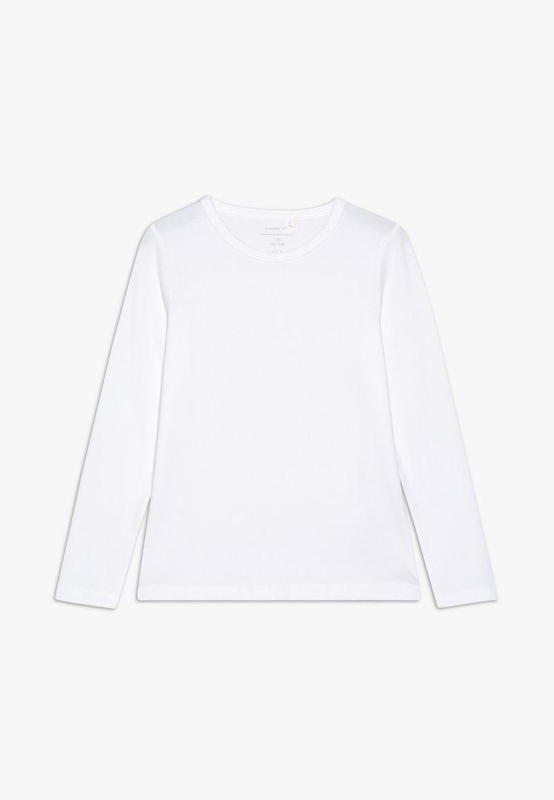 Name it - NKFSIPPA - Camiseta de manga larga - bright white