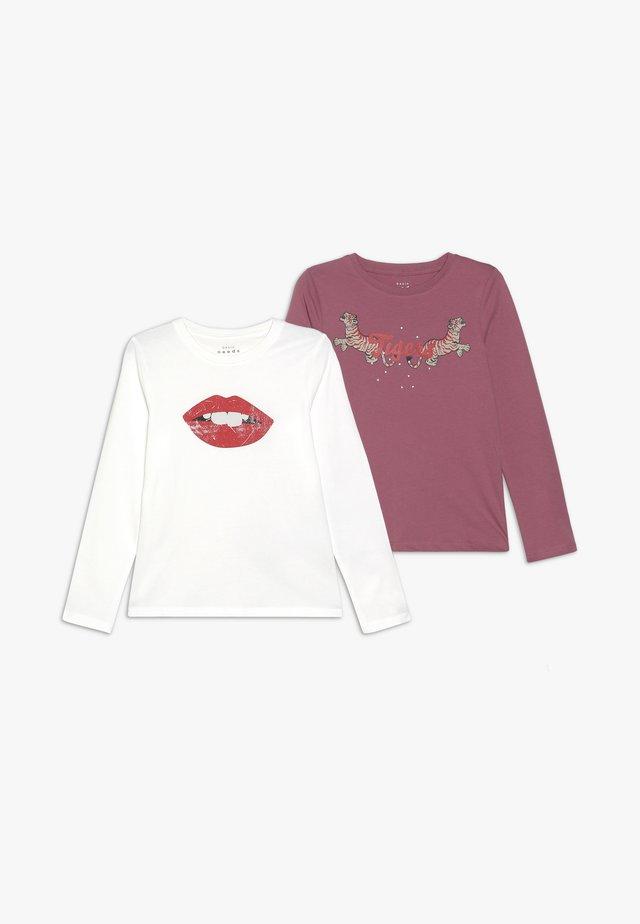 NKFVEEN 2 PACK - Pitkähihainen paita - heather rose