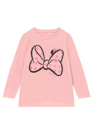 NMFMINNIE JASMINA - Long sleeved top - pink nectar