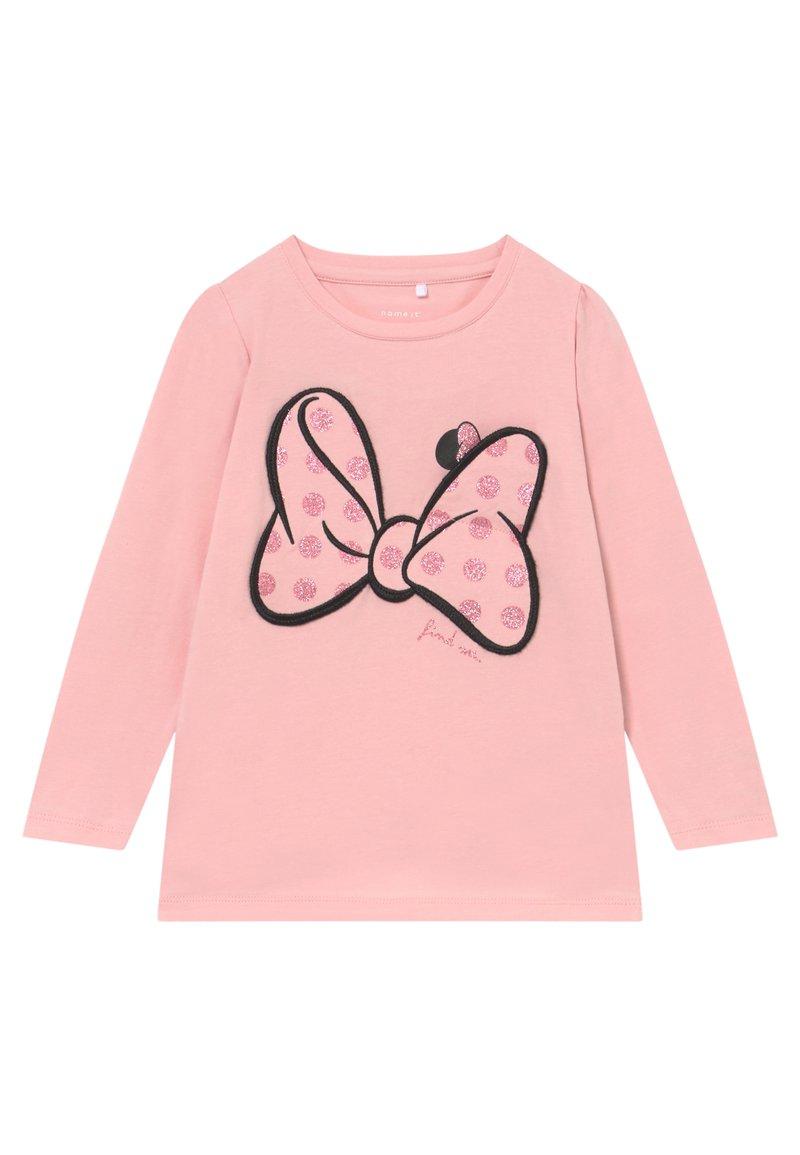 Name it - NMFMINNIE JASMINA - Långärmad tröja - pink nectar