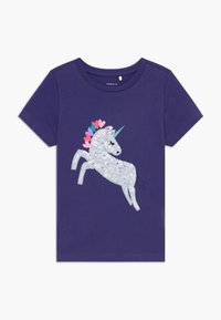 Name it - NKFDANIELLE - T-shirt con stampa - navy blue - 0