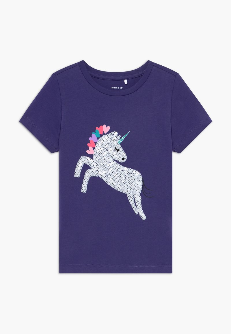 Name it - NKFDANIELLE - T-shirt con stampa - navy blue