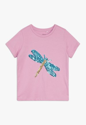 NKFDALUNA  - T-shirt con stampa - orchid