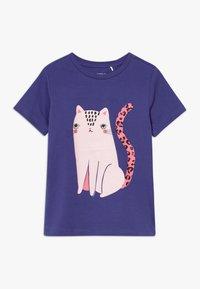 Name it - NKFDIVI  - Print T-shirt - navy blue - 0