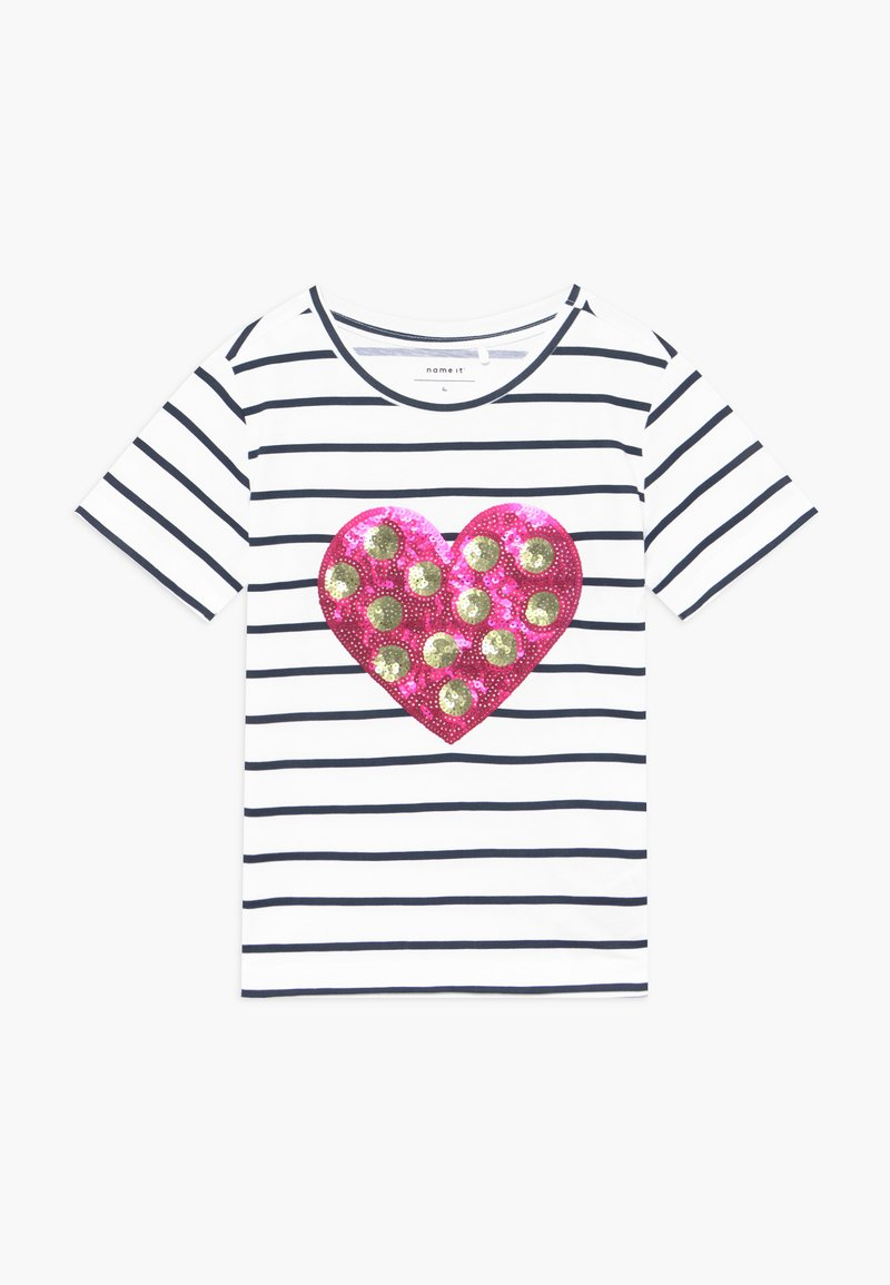 Name it - Print T-shirt - bright white