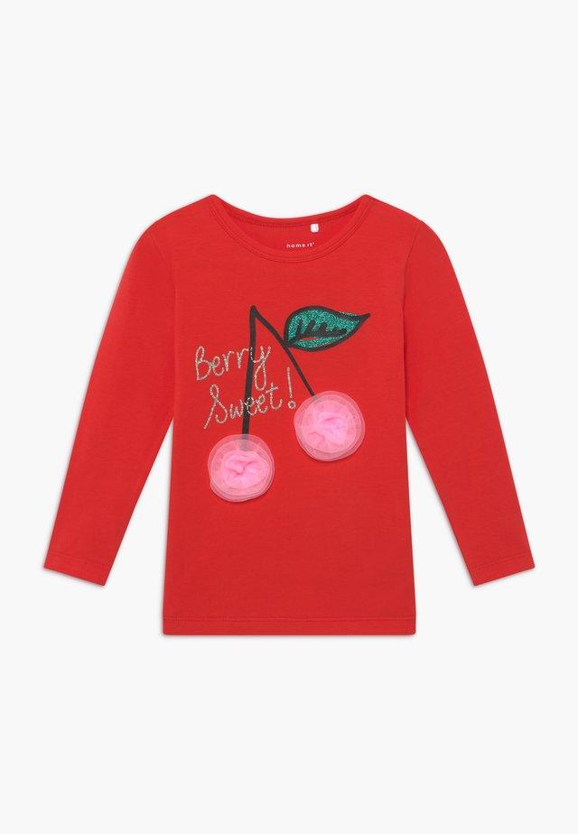 NMFDANA - Pitkähihainen paita - high risk red