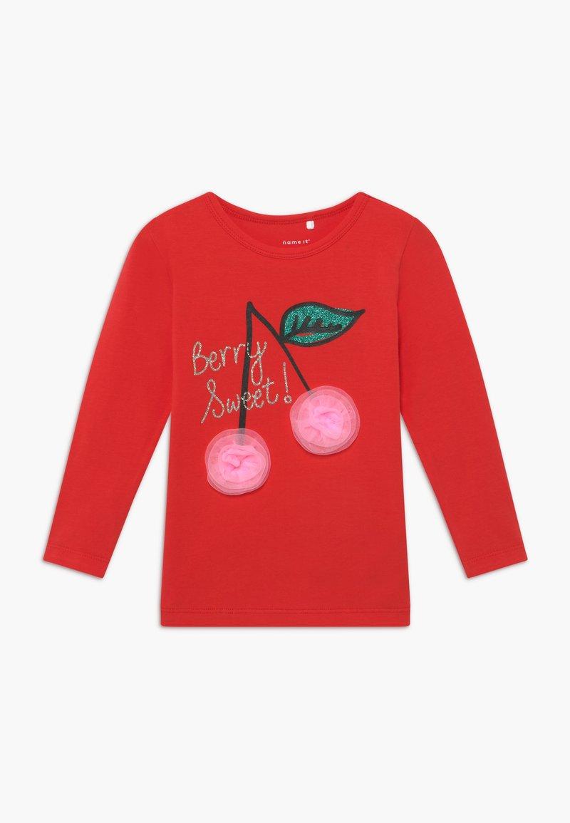 Name it - NMFDANA - Maglietta a manica lunga - high risk red
