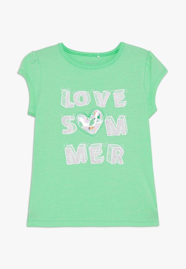 NMFHAPINA BOX - T-Shirt print - spring bud