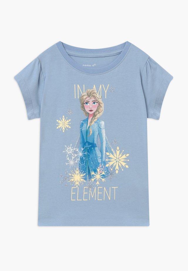 NKMFROZEN TEA - Camiseta estampada - blue