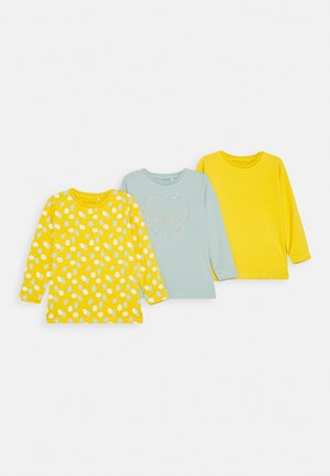 NBFKATARINA 3 Pack - Long sleeved top - spicy mustard