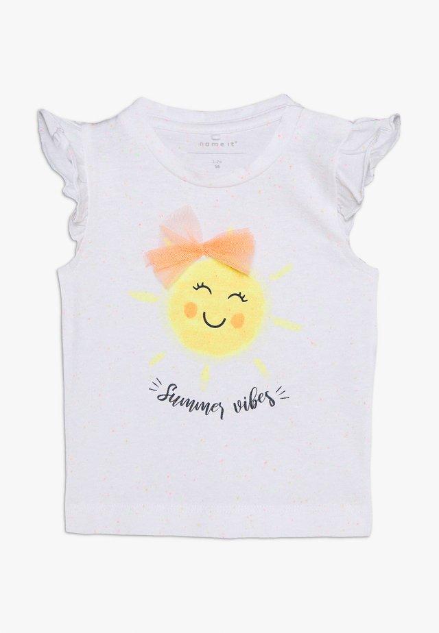 JANE - Camiseta estampada - bright white