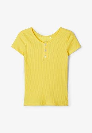 T-SHIRT SLIM FIT RIPPDESIGN - T-shirts print - aspen gold
