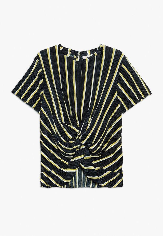 NKFFABRIZIA - T-Shirt print - dark sapphire