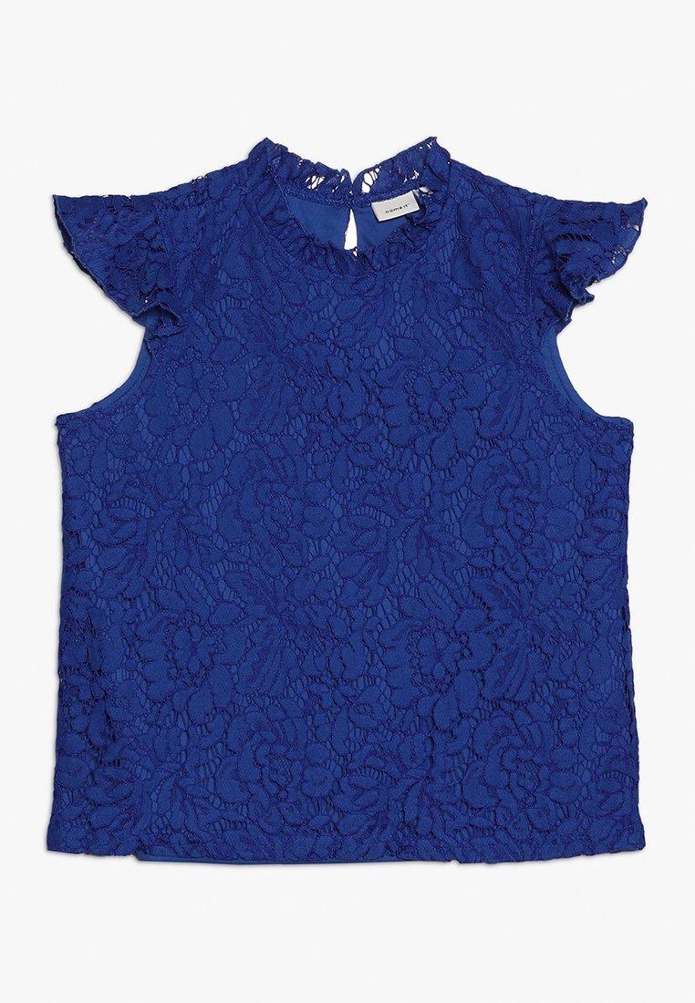 Name it - NKFDALACE - Bluser - nautical blue