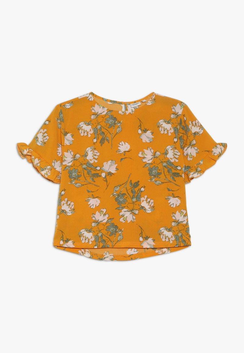 Name it - NKFVINAYA  - Bluser - golden orange
