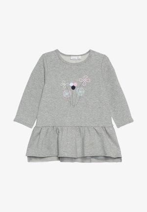 NBFOFELIE TUNIC - Sweatshirt - grey melange