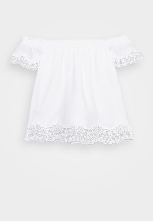 NKFHAYLA BLOUSE - Bluser - bright white