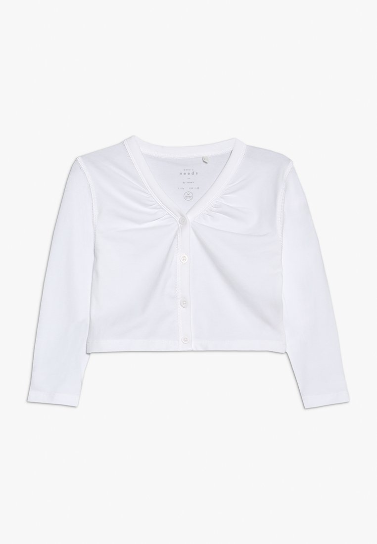 Name it - NKFVIOL BOLERO MINI - Vest - bright white