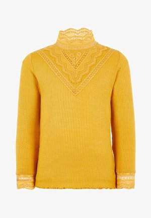 Sweter - amber gold