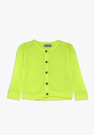 NMFKIRRA  - Cardigan - safety yellow