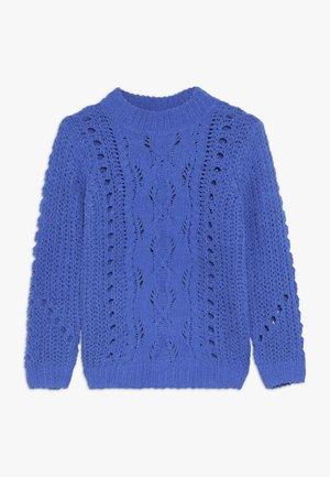 NKFNUISE - Stickad tröja - dazzling blue