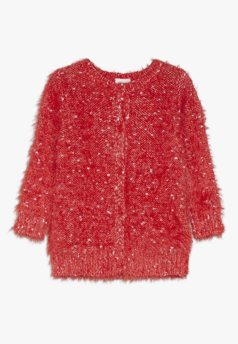 Name it - NMFNAILA CARD - Cardigan - poppy red