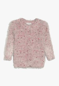 Name it - NMFNAILA CARD - Chaqueta de punto - strawberry cream - 0