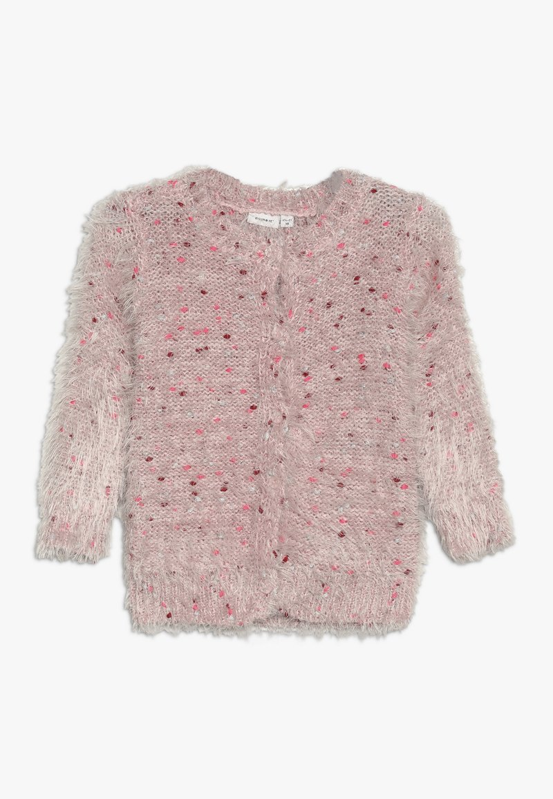 Name it - NMFNAILA CARD - Chaqueta de punto - strawberry cream