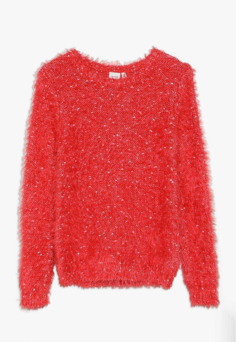 Name it - NKFNAILA - Svetr - poppy red