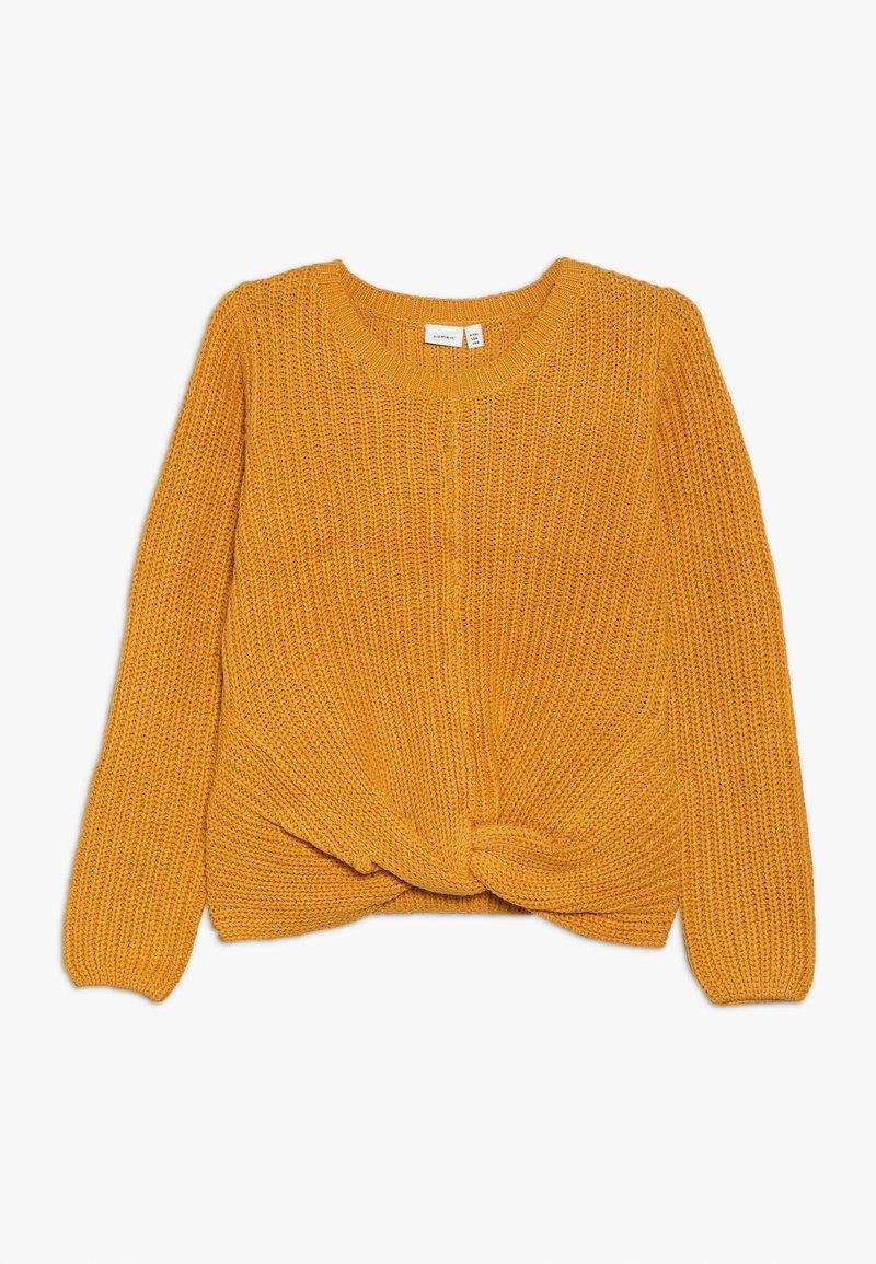 Name it - NKFNIJIA - Trui - golden orange