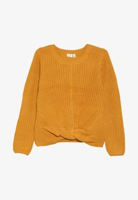 Name it - NKFNIJIA - Sweter - golden orange - 2