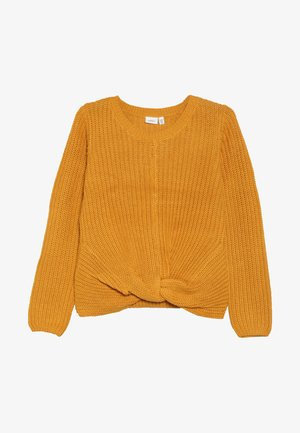 NKFNIJIA - Svetr - golden orange
