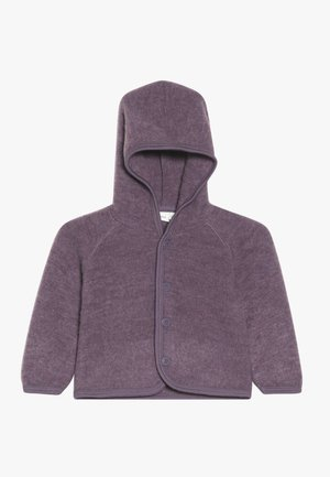 NBFWMINO BRUSHED CARD - Veste polaire - black plum