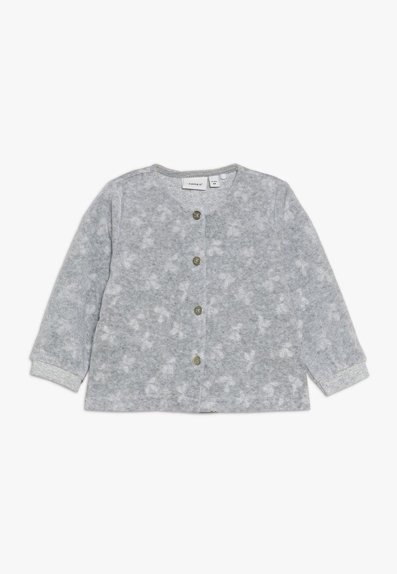 Name it - NBFNAIA - Zip-up hoodie - grey melange