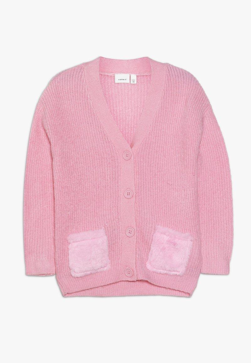 Name it - NMFOIANA - Chaqueta de punto - prism pink