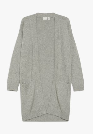 NKFVULIA LONG - Cardigan - grey melange