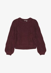 Name it - NANNIE  - Sweter - cabernet - 3