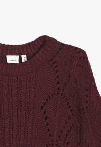Name it - NANNIE  - Jumper - cabernet - 4